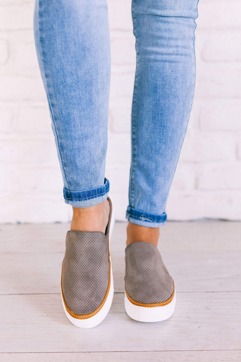 Shoes Dakota Slip On Sneakers Taupe