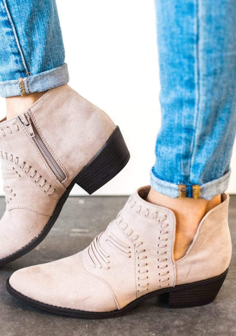 Shoes Favorite Booties Taupe