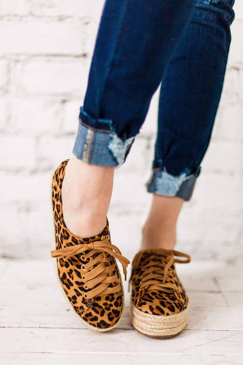 Shoes Gianna Espadrille Sneakers Leopard