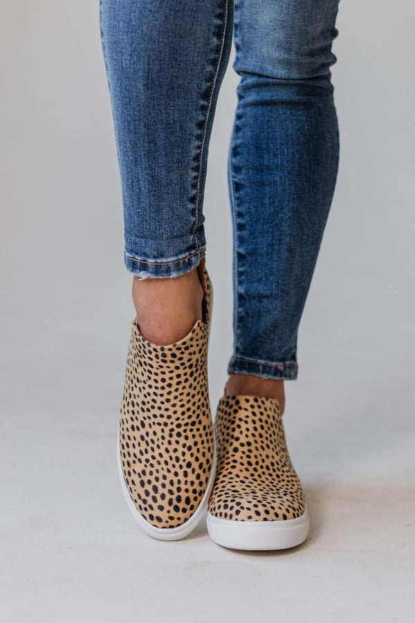 Shoes Grant Side Cut Sneakers Cheetah