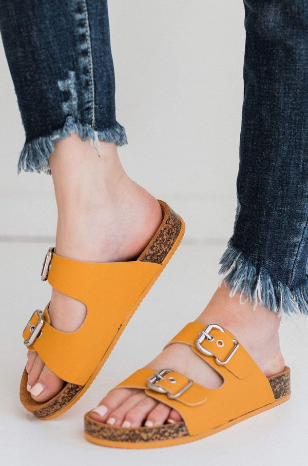 Shoes Hendrix Buckled Sandals Saffron
