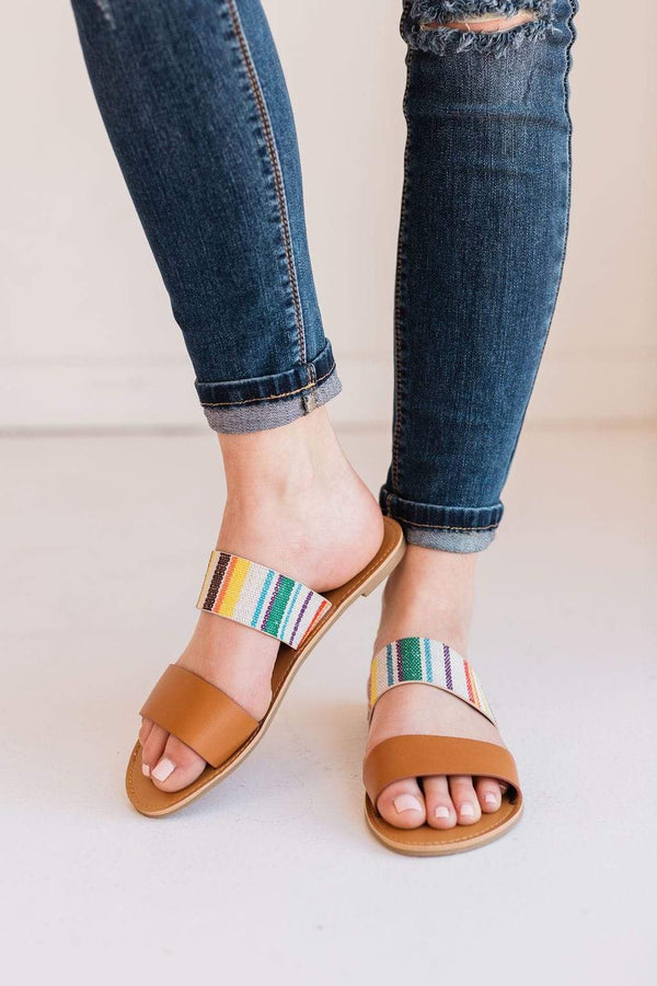 Shoes Houston Slip On Sandals Multi