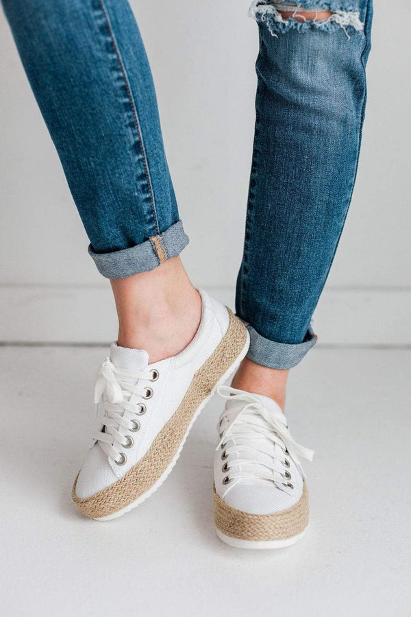 Shoes Keana Espadrille Sneakers White