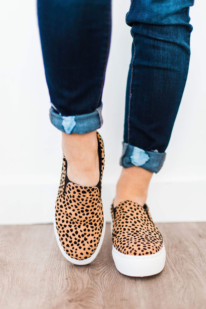 Shoes Leopard Platform Sneakers