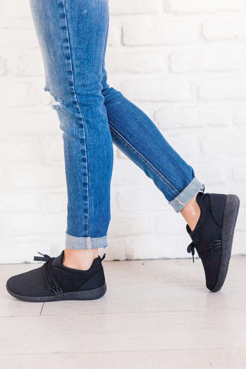 Shoes Lucy Lace Up Sneakers Black