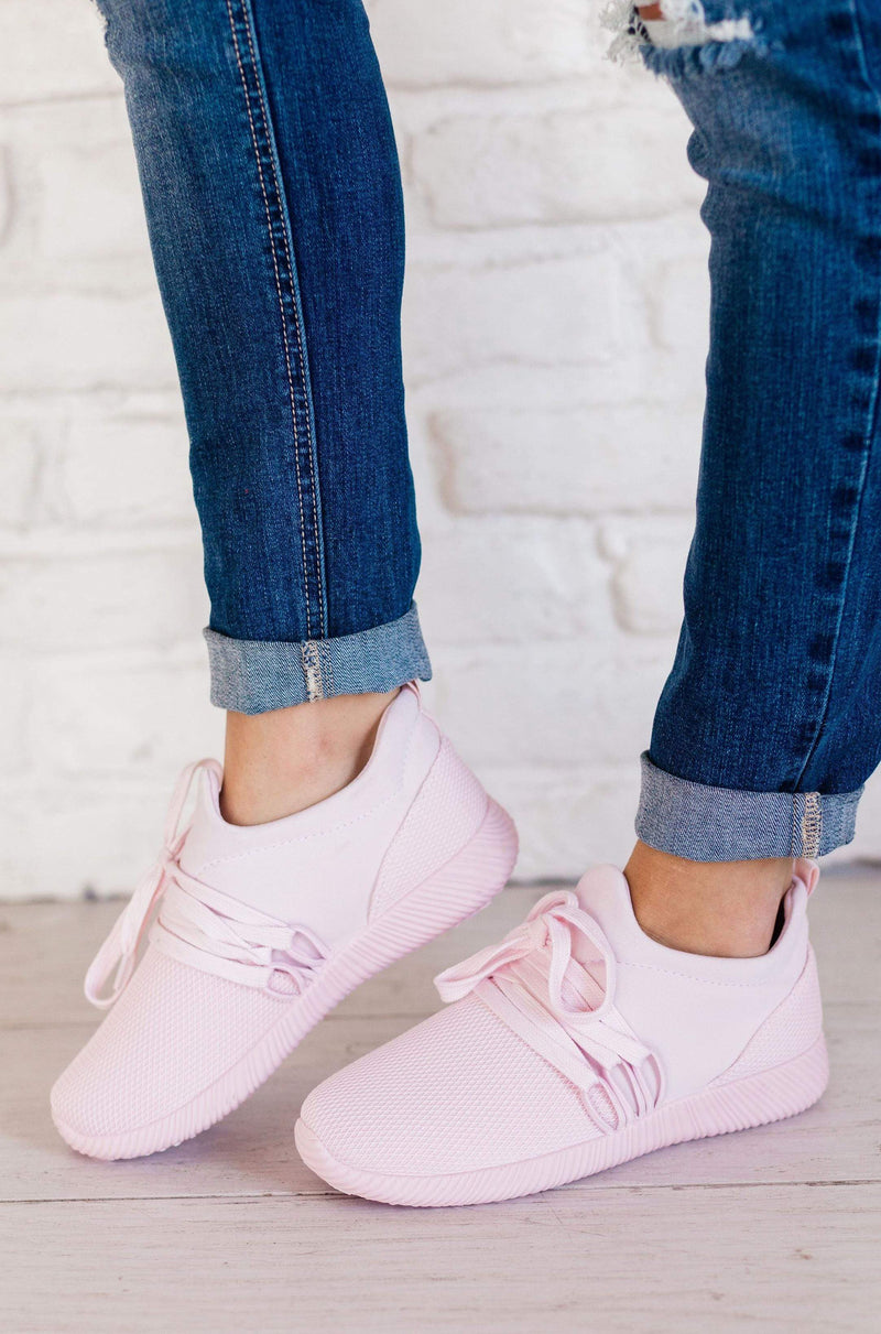Shoes Lucy Lace Up Sneakers Pink