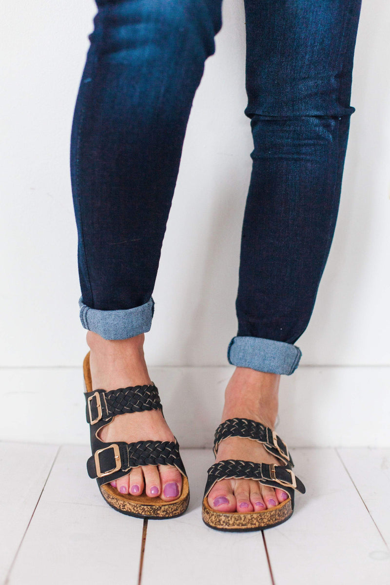 Shoes Luka Braided Sandals Black