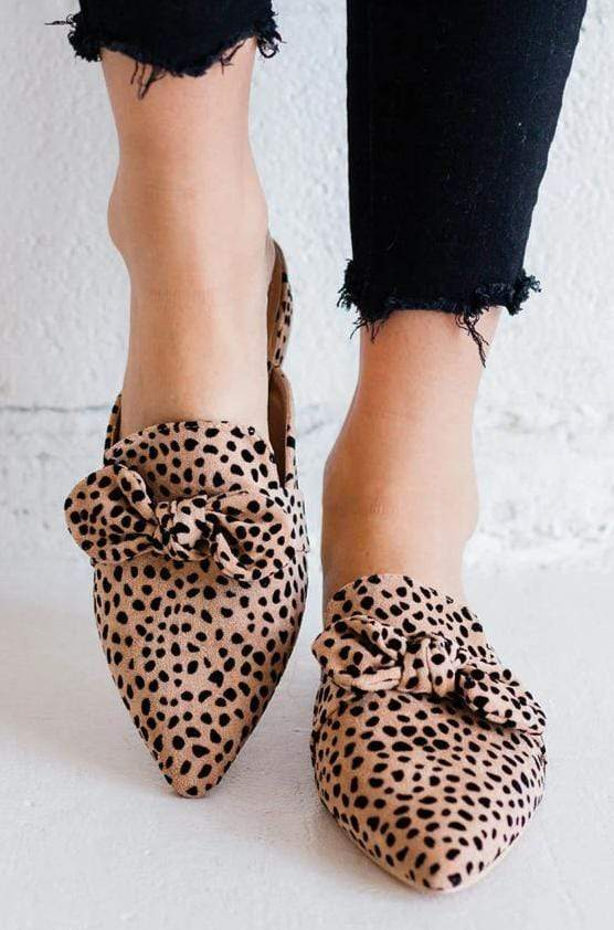 Shoes Madeline Leopard Flats