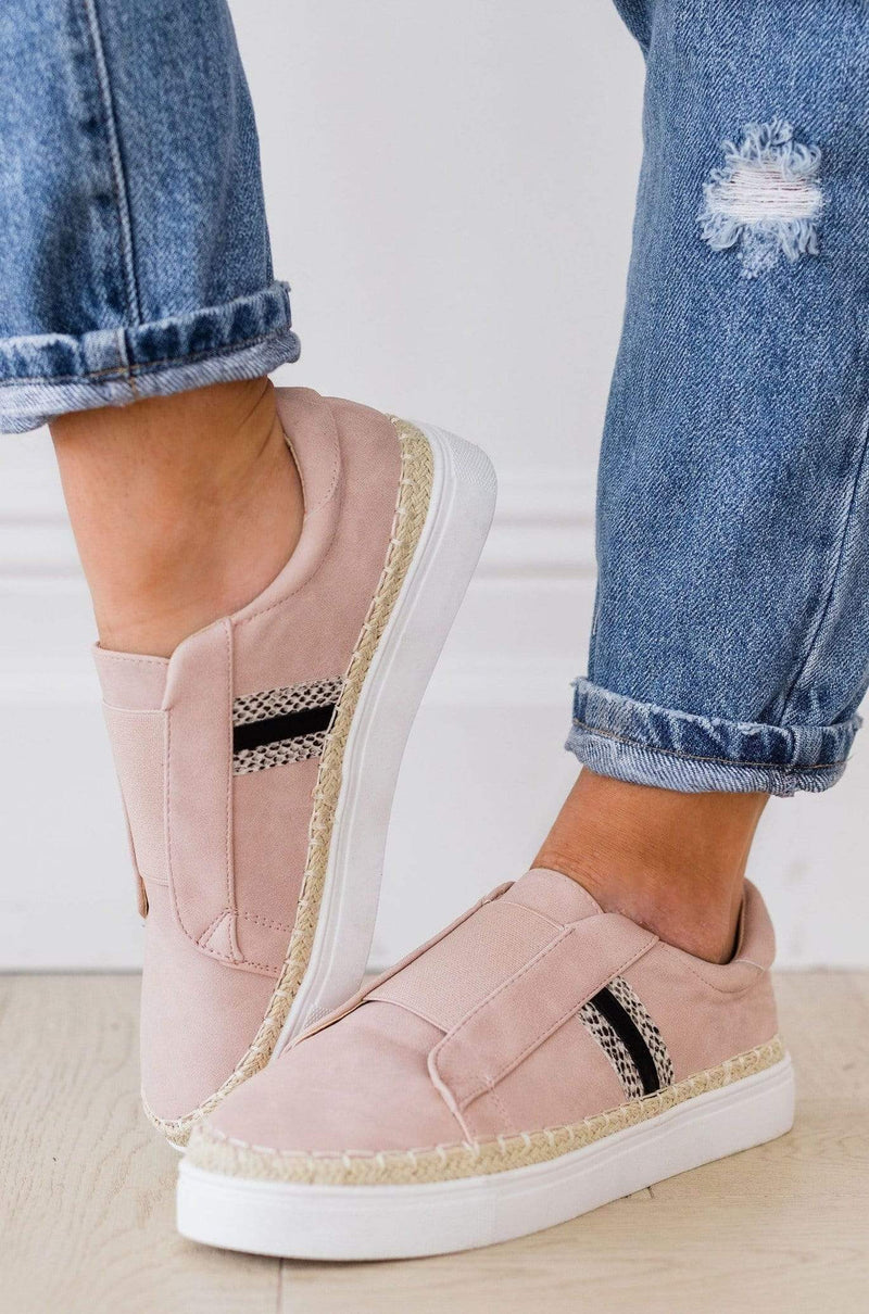 Marcus Sneakers Mauve – Lucy Avenue