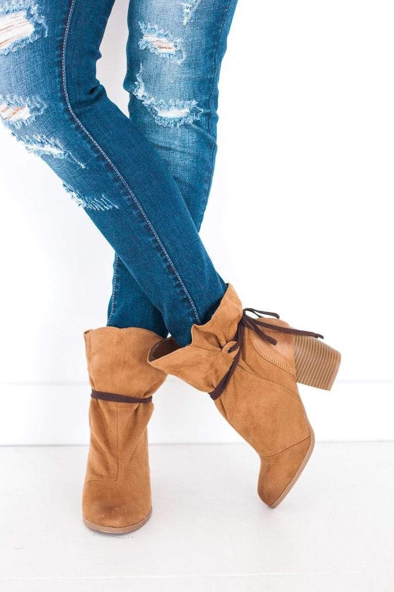 Shoes Maze Slouch Bootie Tan