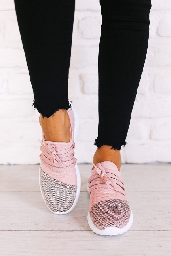 Shoes Pamier Sneakers Pink