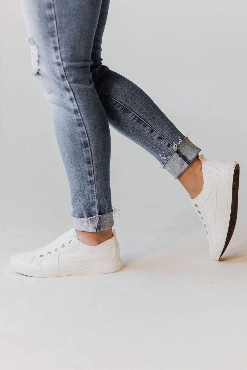 Shoes Playful Slip On Sneakers White