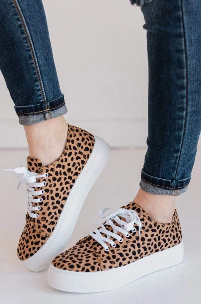 Polly Platform Sneakers Cheetah – Lucy