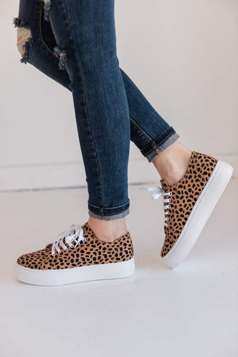 Shoes Polly Platform Sneakers Cheetah