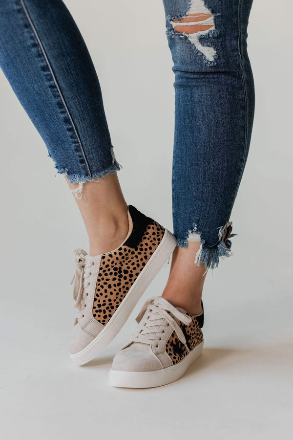Shoes: Sandals Shoot For the Stars Sneakers Cheetah