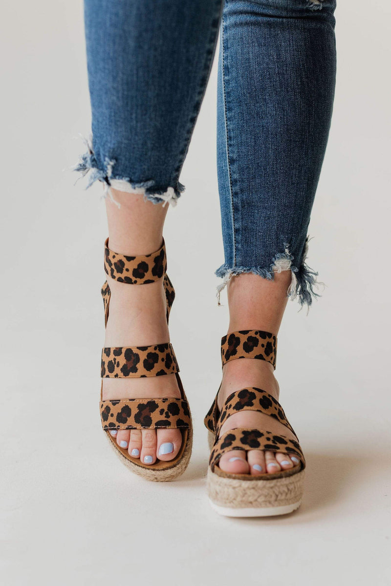 Shoes: Sandals Sunshine Espadrille Sandals Leopard