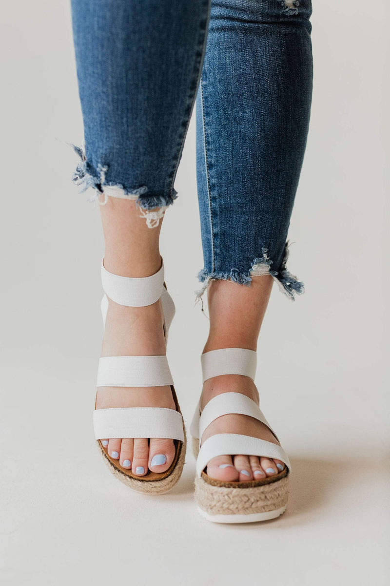 Shoes: Sandals Sunshine Espadrille Sandals White