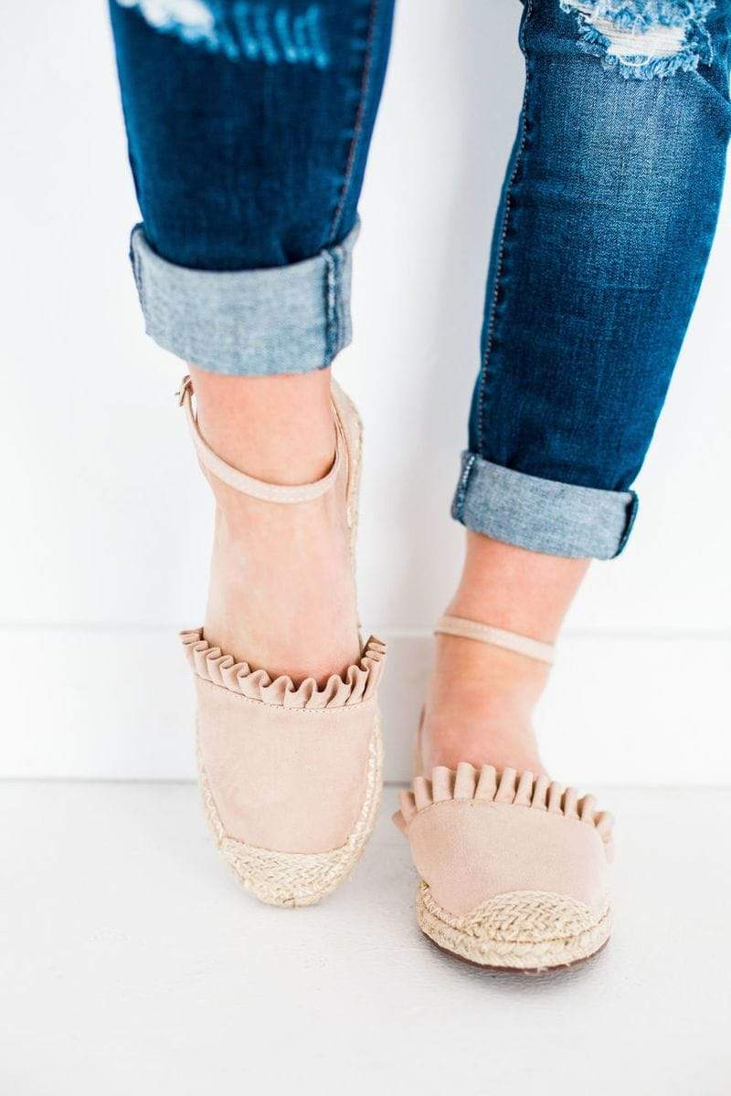 Shoes Sierra Espadrille Flats Nude