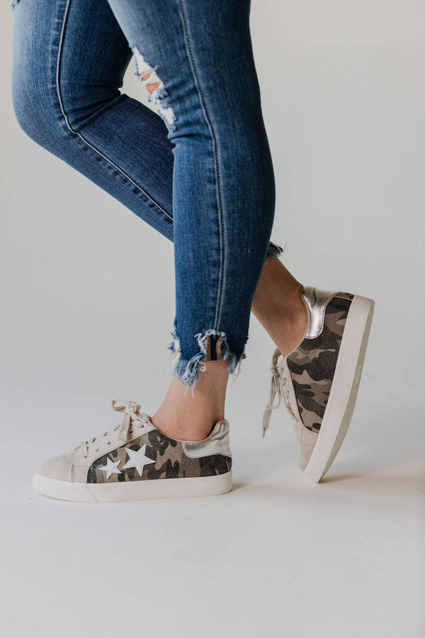 Shoes: Sneakers Shoot For the Stars Sneakers Camo