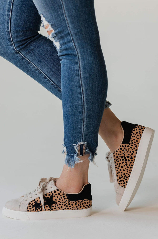 Shoes: Sneakers Shoot For the Stars Sneakers Cheetah