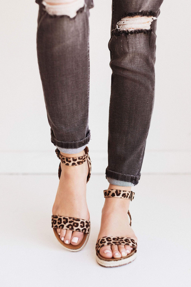 Shoes Tacoma Espadrille Sandals Leopard