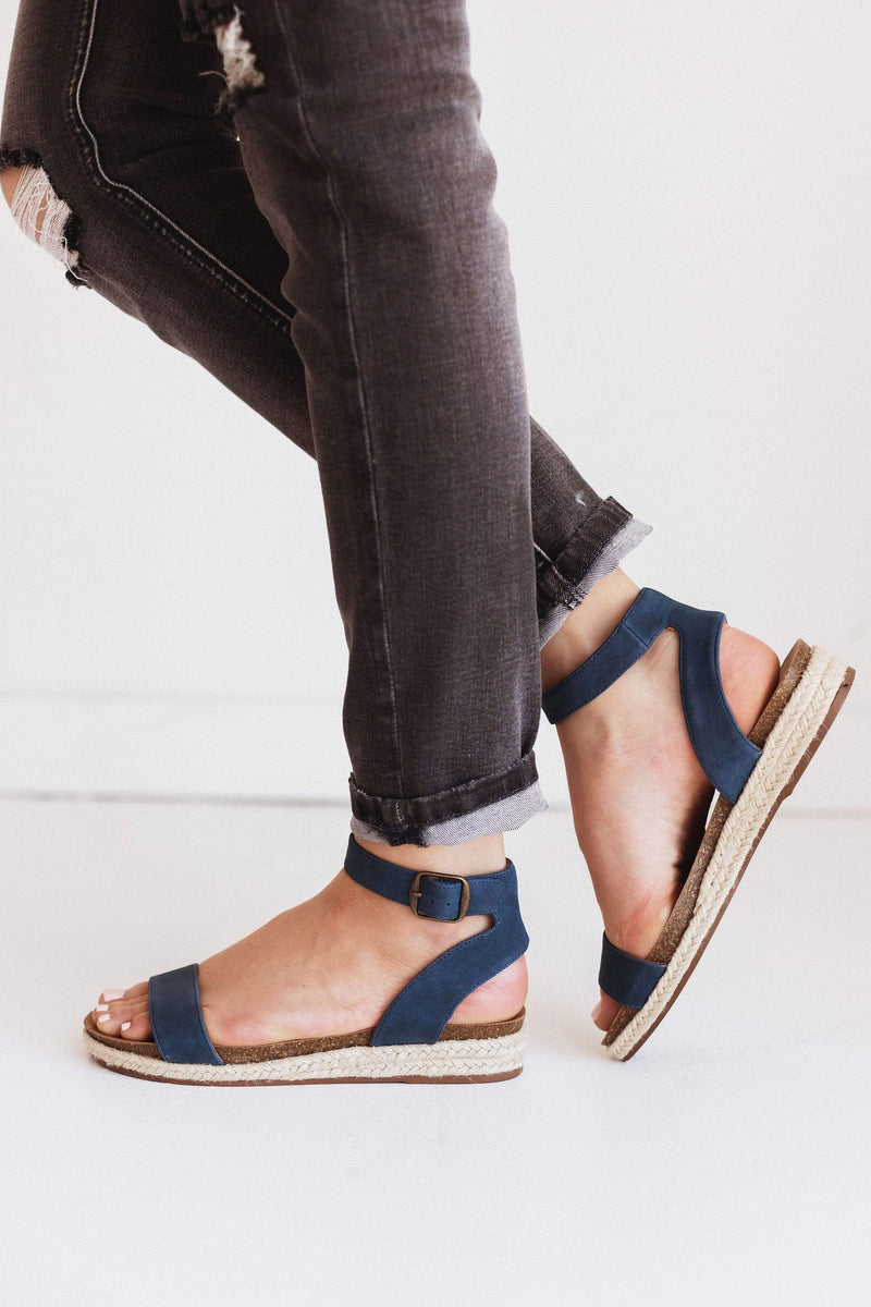 Shoes Tacoma Espadrille Sandals Navy