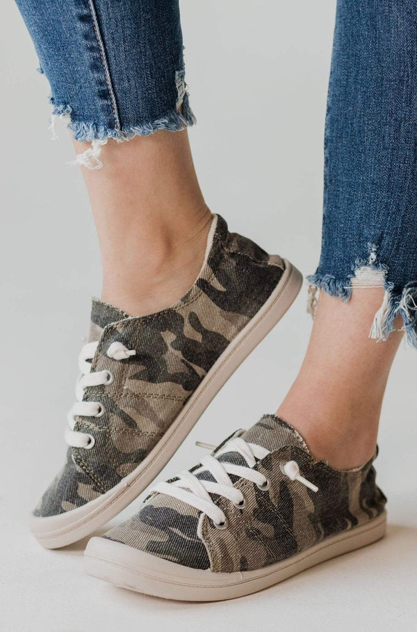 Shoes Zig Slip On Sneakers Camo