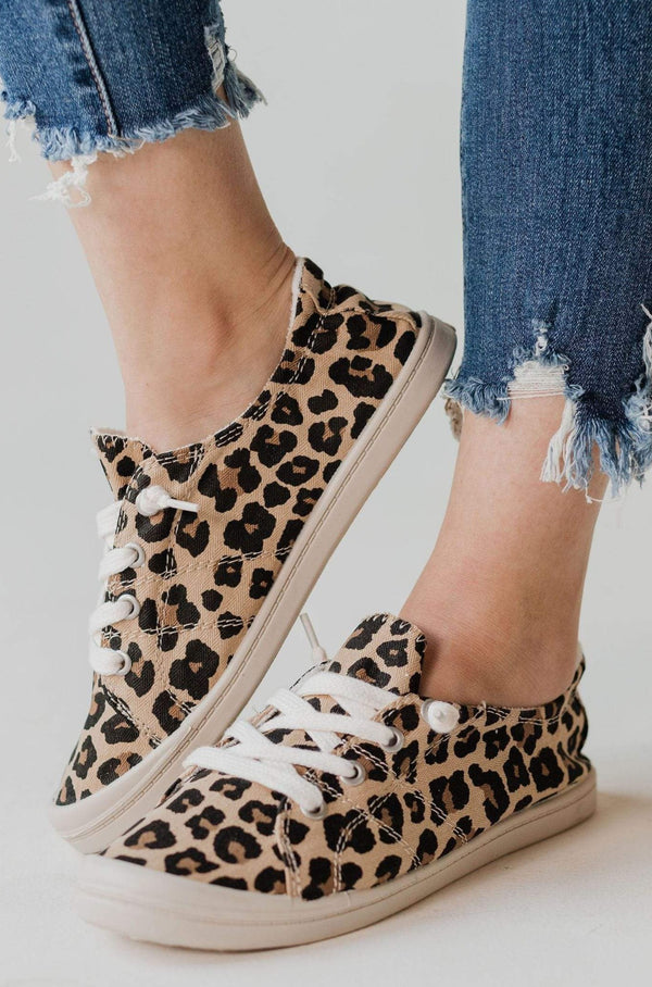 Zig Slip On Sneakers Leopard