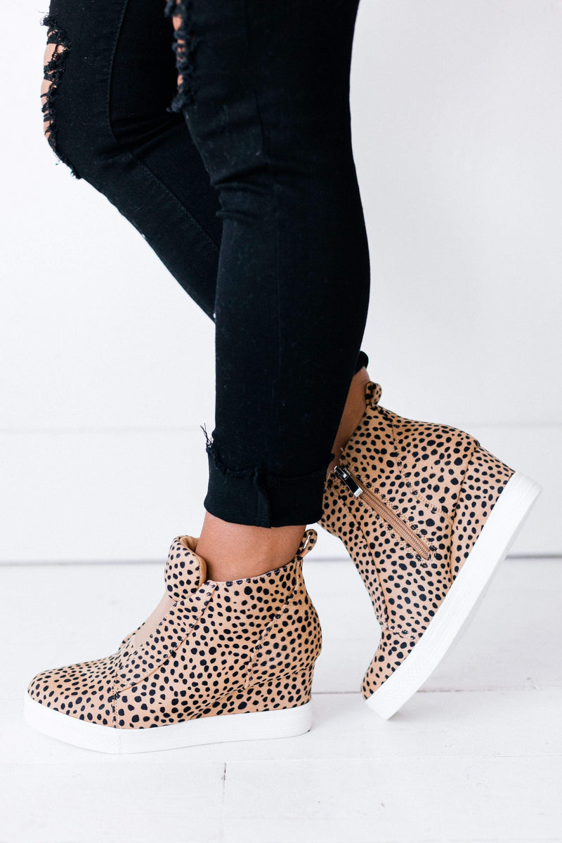 Shoes Zoey Wedge Sneakers Cheetah