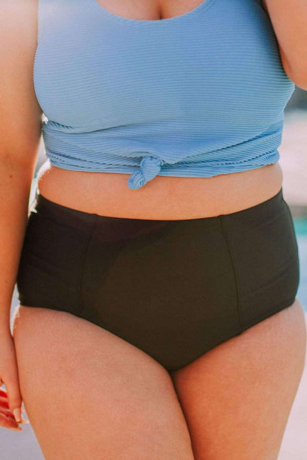 Swim Beach Bum Bottom Black