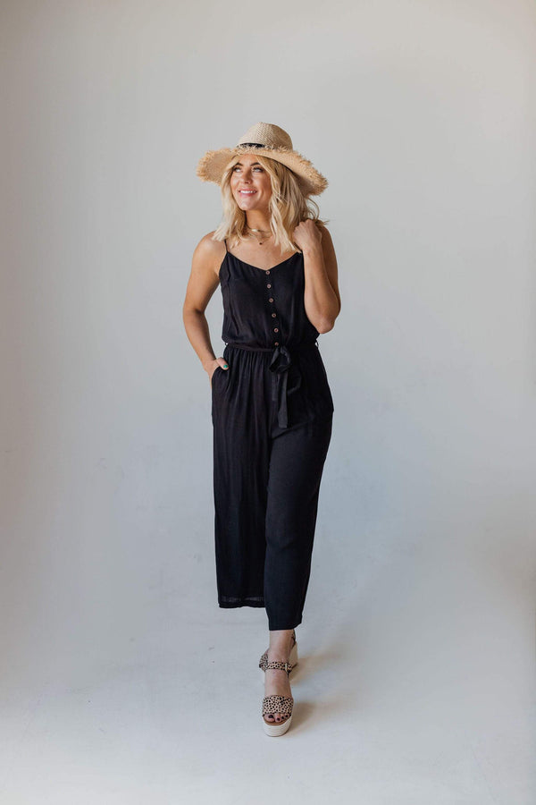 Tops Alex Jumpsuit Black