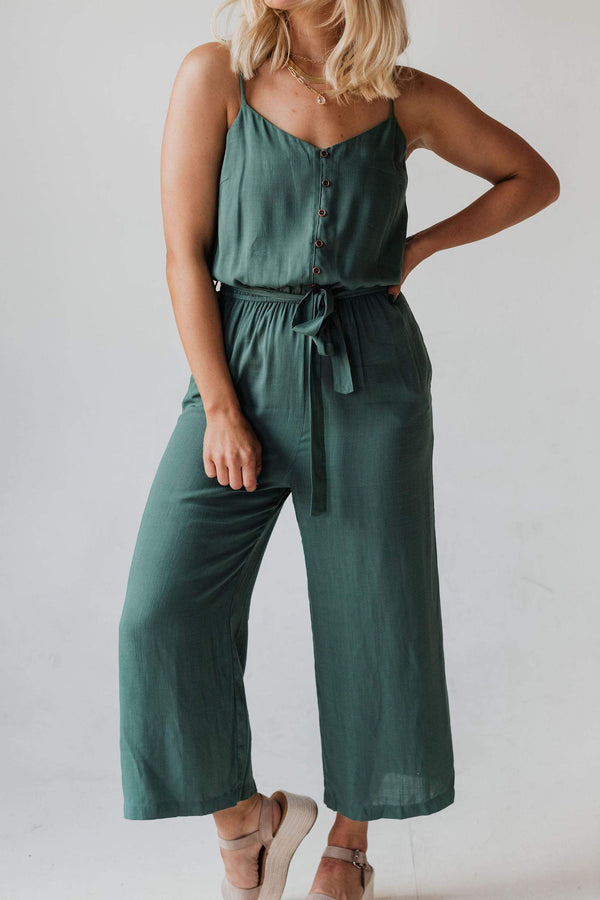Tops Alex Jumpsuit Kale