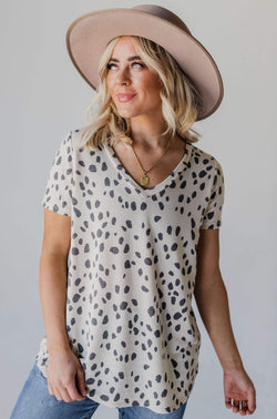 Tops Alice Dalmation Top