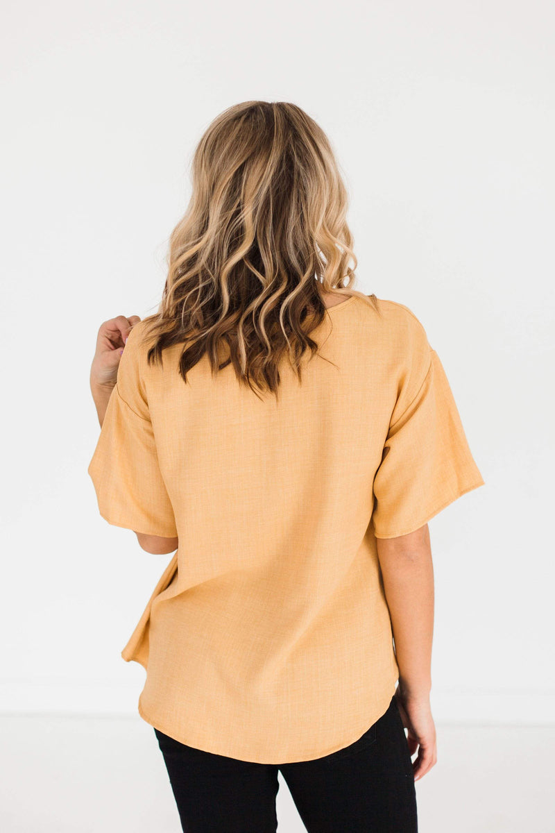 Tops Andy Botton Front Top Mango