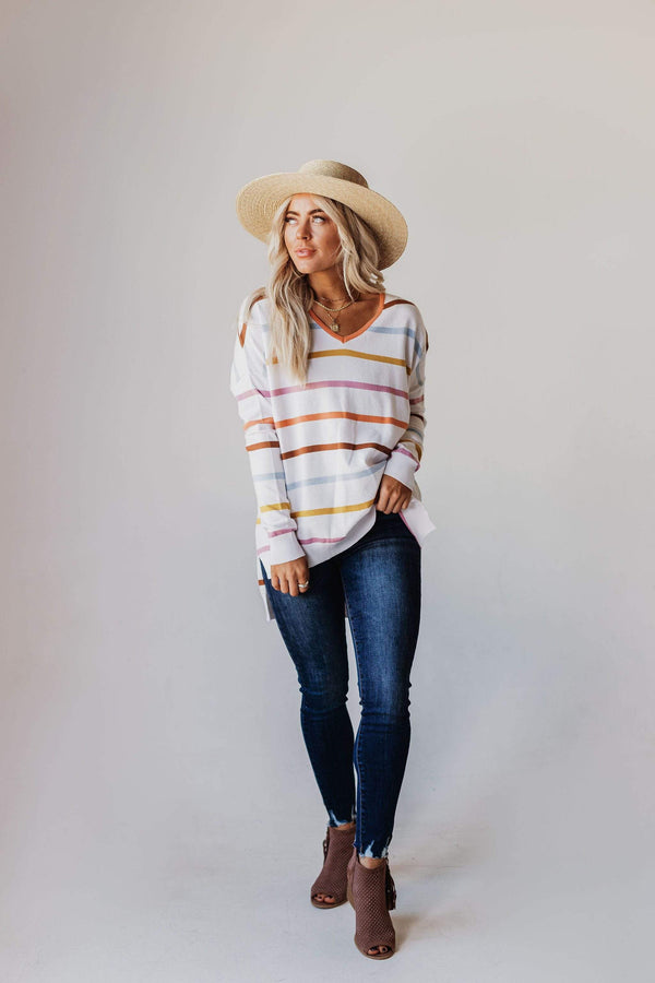 Tops Brigid Striped Sweater