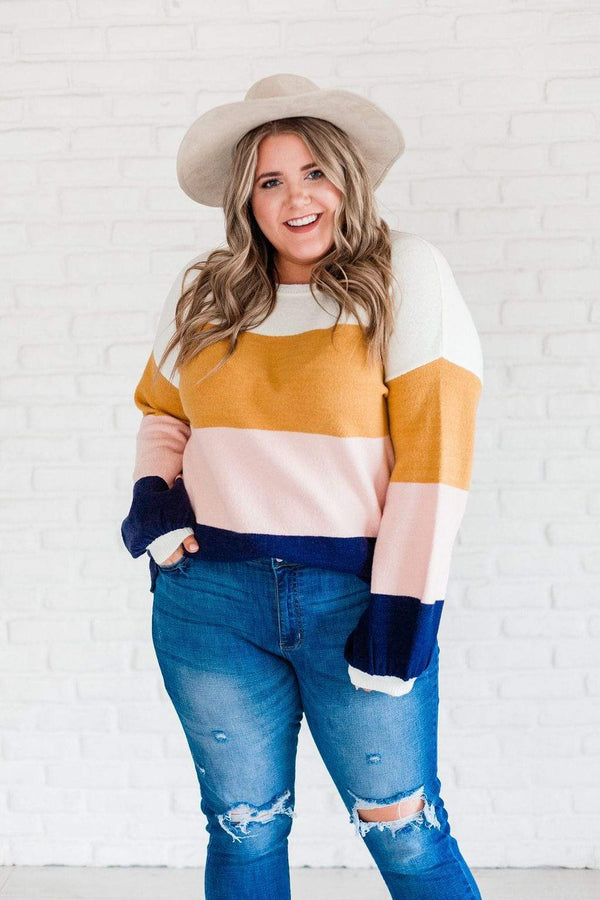 Tops Emory Striped Sweater