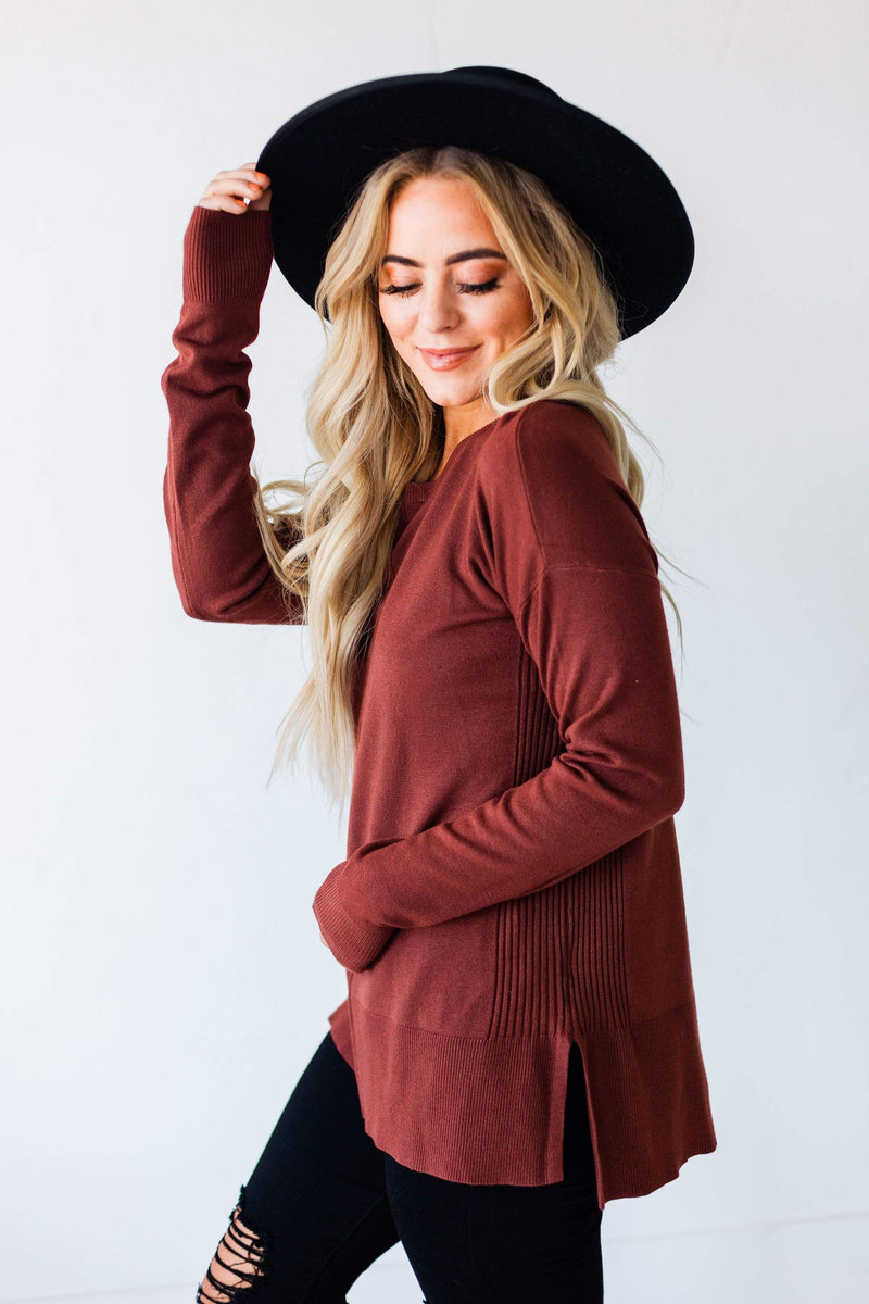 Tops Erika Sweater Rust