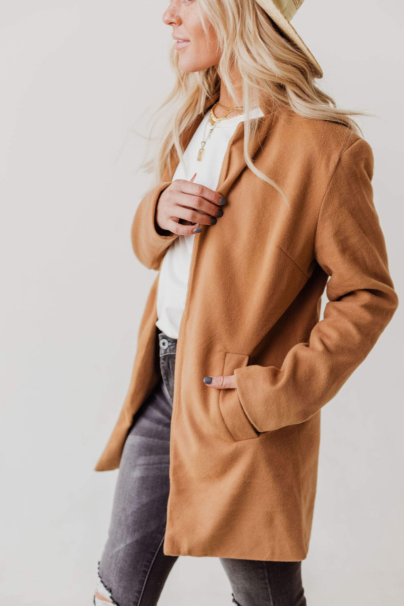 Tops EXCLUSIVE! Emrie Blazer Camel