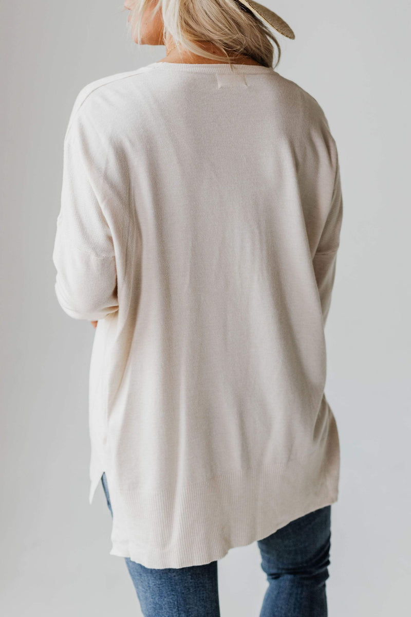 Tops EXCLUSIVE! Jess Sweater Oatmeal