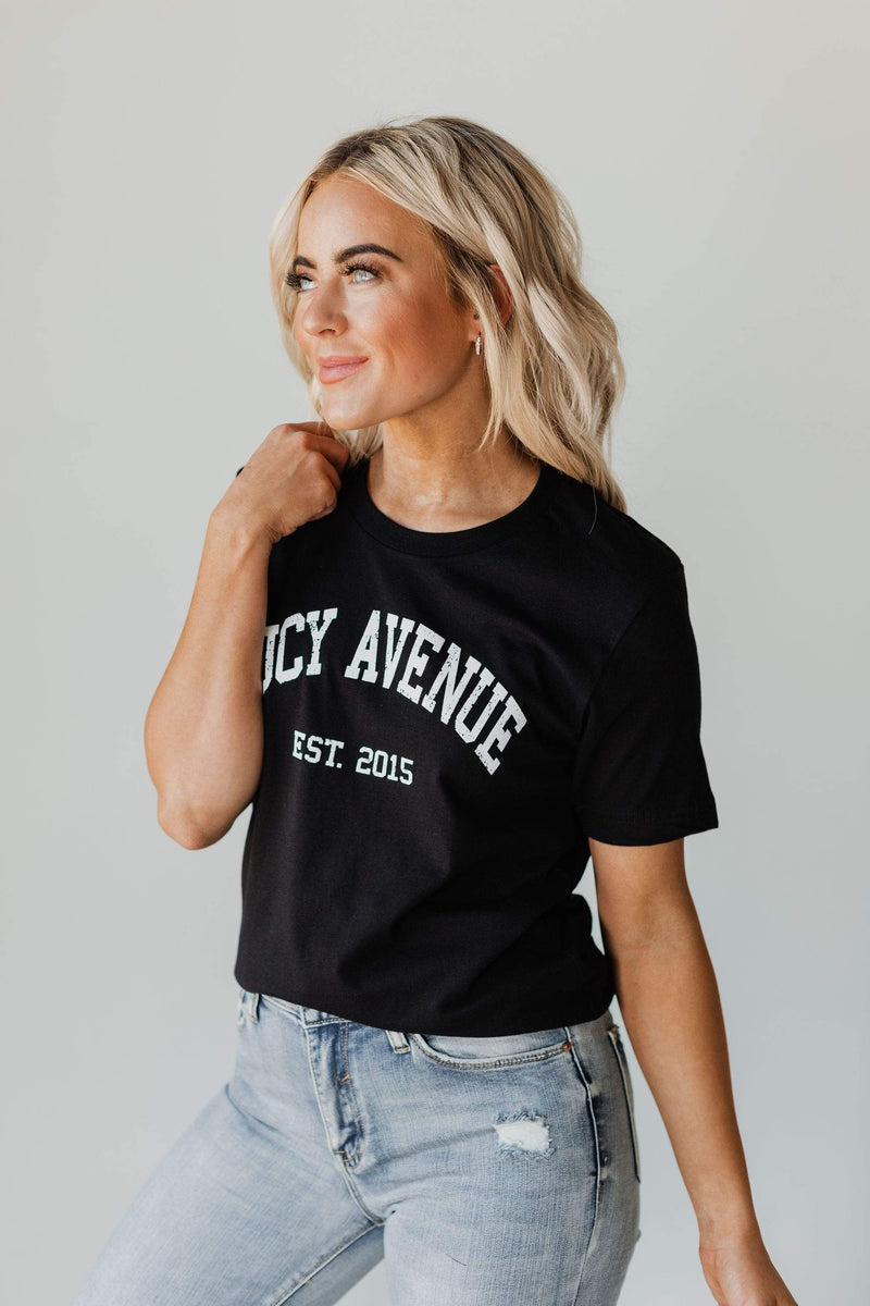 Tops EXCLUSIVE! Lucy Avenue College Tee