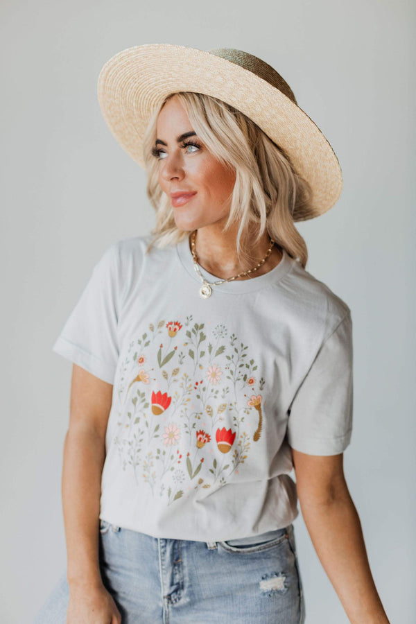 Tops EXCLUSIVE! Monroe Floral Graphic Tee