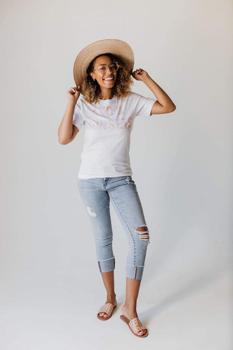 Tops EXCLUSIVE! Sand and Sunsets Tee
