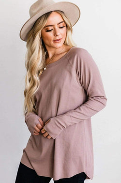 Tops Harmony Top Mocha