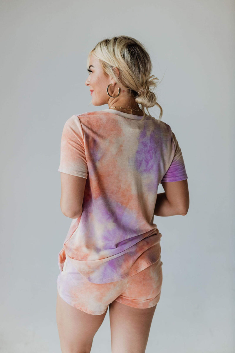 Tops Holly Tie Dye Tee Oasis