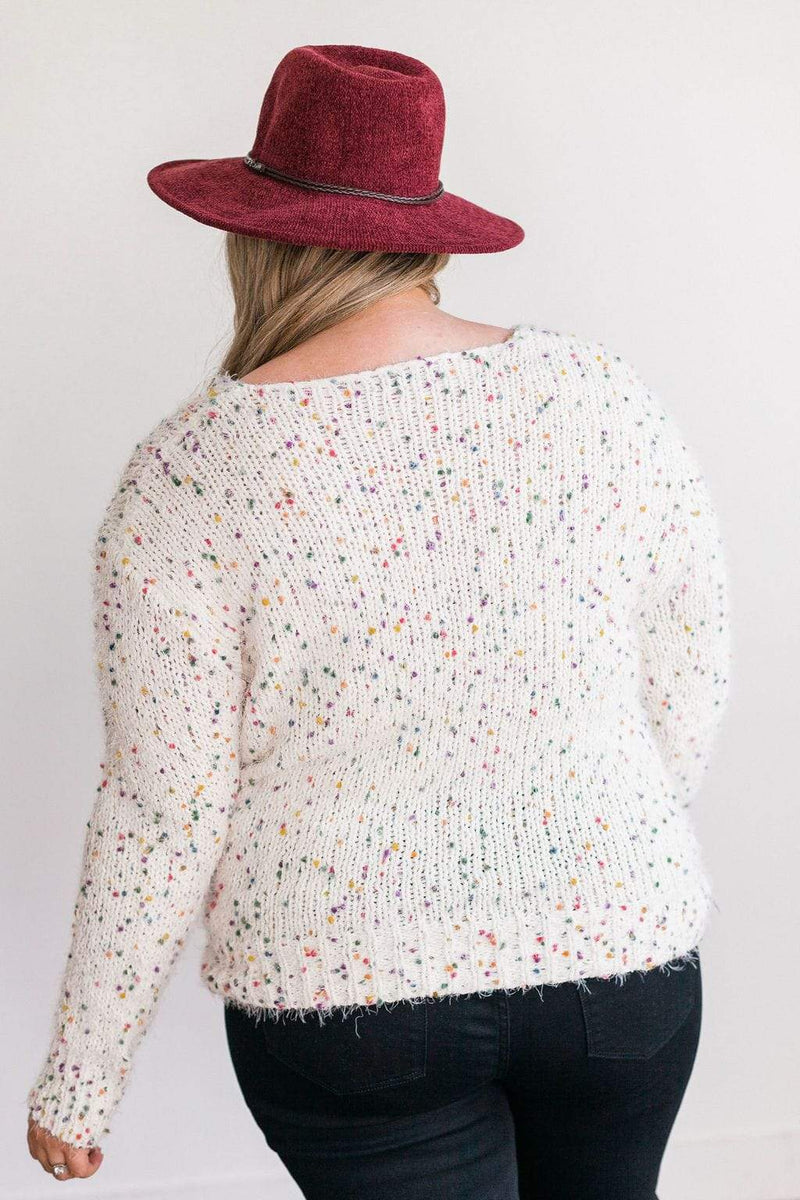 Tops Joanna Confetti Sweater