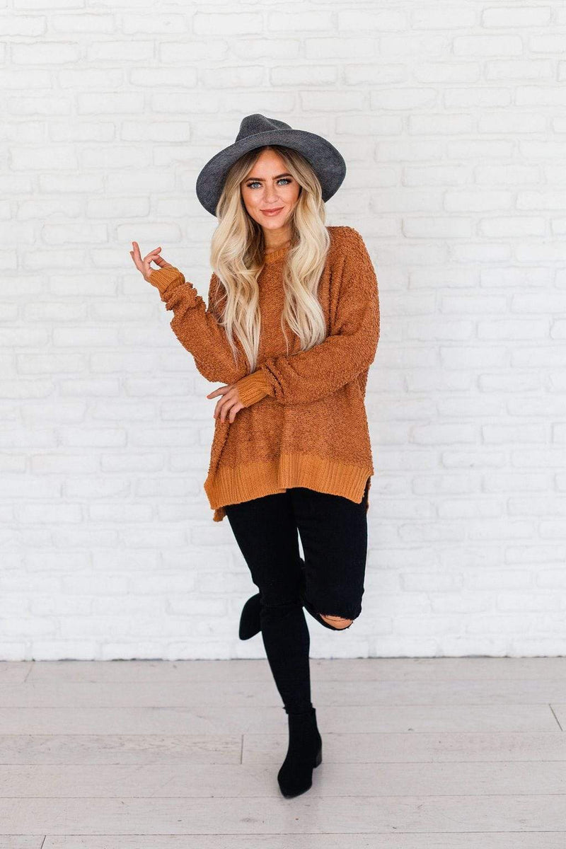 Tops Maggie Sweater Camel