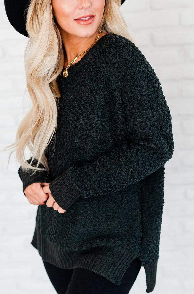 Tops Maggie Sweater Forest Green