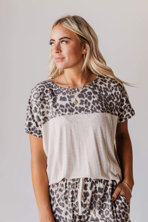 Tops Molly Leopard Lounge Set