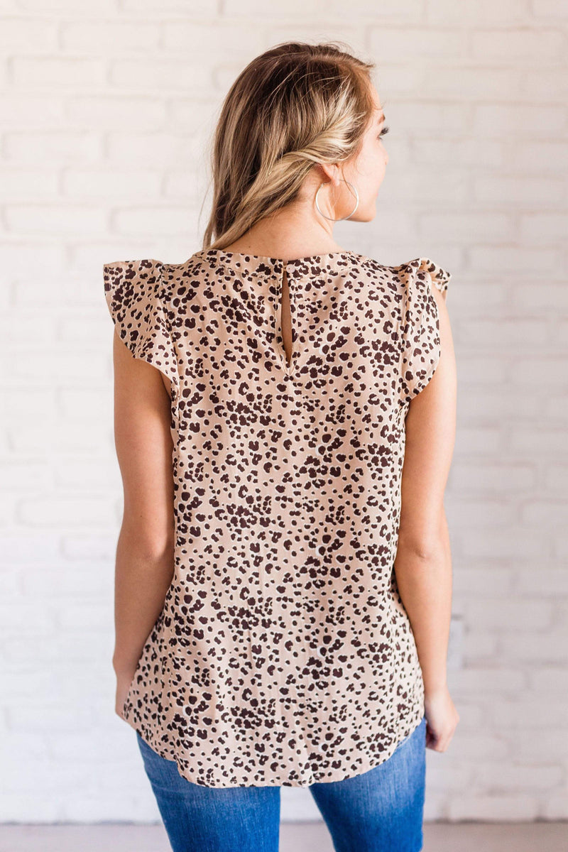 Tops Phoebe Leopard Top