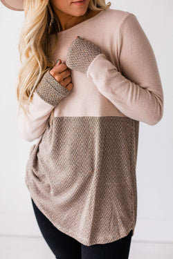 Tops Shalynn Herringbone Top